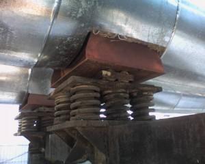 Пружины опор трубопроводов ОСТ